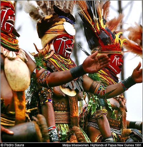 Papua Nueva Guinea. Mujeres Melpa por pedro.saura.
