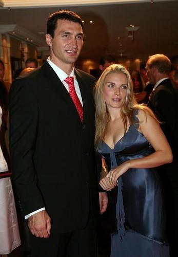 wladimir klitschko. Wladimir Klitschko and Tatjana