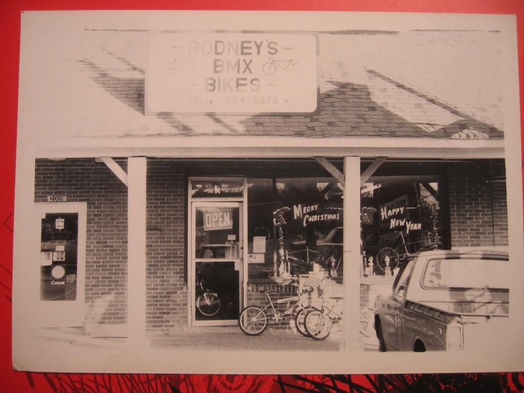 Rodney's BMX Bike Shop 1980's Birmingham - Center Point, Alabama