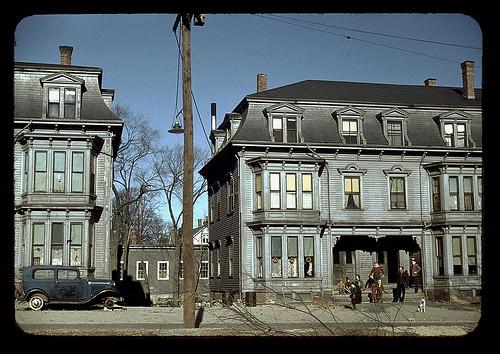 Children in the tenement district, Brockton, Mass.  (LOC)