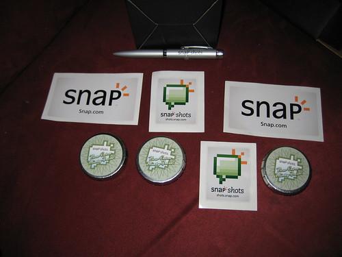 Snap.com Schwag