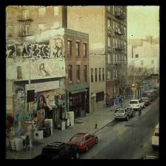 Bedford Avenue (kekyrex) Tags: urban ny streets texture brooklyn graffiti williamsburg ttv