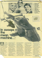 Airwolf Article From TV Times - 1984 (Light Painted Cornwall) Tags: alex cord michael tv october jan vincent borgnine 1984 times ernest airwolf