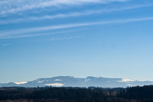 In The Distance - hills outside of Stayton Oregon