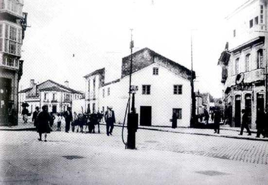 Antigua Plaza de la República, hoy de Galicia.