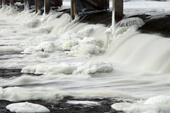 Dam Ice (Allen's Photography) Tags: ice water river mississippi smorgasbord naturesfinest