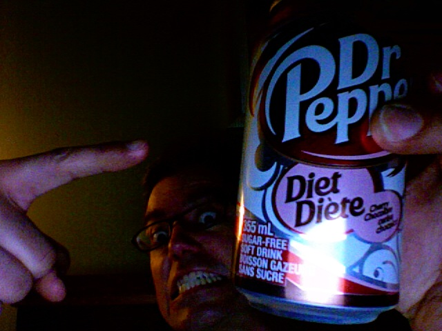 Diet Cherry Chocolate Dr. Pepper is disgusting
