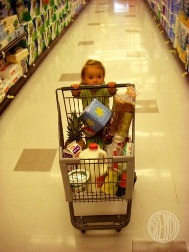 the world's littlest shopper