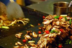 DSC_6379 Grilled Mountain Pork, Wu-Lai, Taipei County, Taiwan 鐵板山豬肉-美食-食物-小吃-台北縣烏來鄉