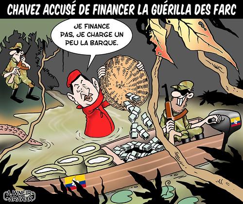 Chavez finance les Farc