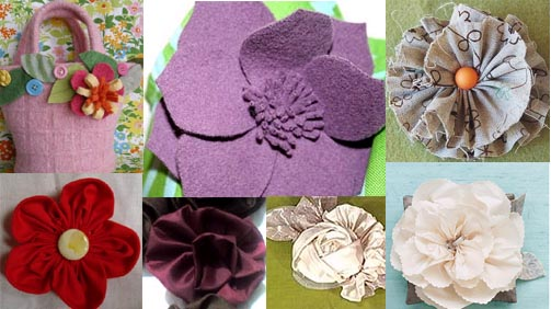 Fabric Flowers to Make