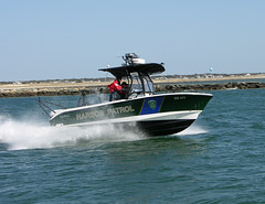 205 CC Yarmouth Running - On Patrol (rogertaylor163) Tags: patrolboat commercialboat lawenforcmentboat