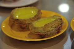 Egg tarts at 檀島(Honolulu Coffee Shop)