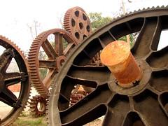 PR_Vaca_Crash_Cogs (19) (Rene10) Tags: 2 vacation cane puerto highway gear sugar rico press cogs 115 rincon
