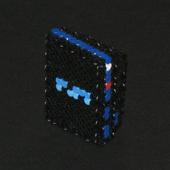 Sony Playstation 2 3D Bead Sprite (Doctor Octoroc) Tags: sony videogames ps2 console playstation2 hamabeads sonyplaystation2 perlerbeads beadsprite doctoroctoroc