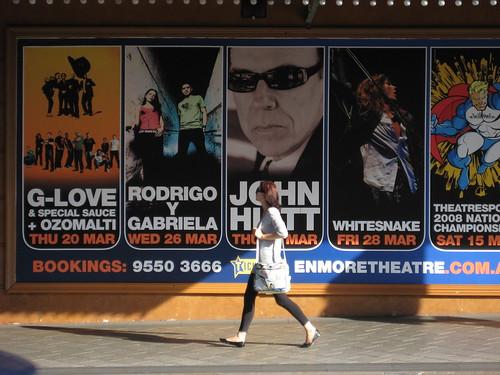 enmore theatre whitesnake poster