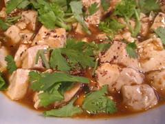 Mapo tofu (kattebelletje) Tags: tofu  mapotofu doufu