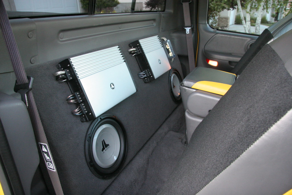 Ford Truck World What Subs Would Fit In A Single Cab 150