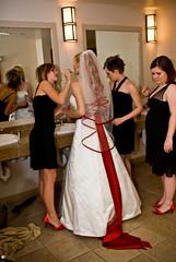 last minute (lishagisha) Tags: wedding amber sash ali gown redhair alisha applered decou