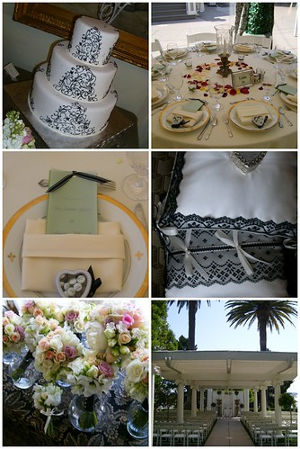 A fancy wedding will work nicely here with Soiree Cake and simple elegant