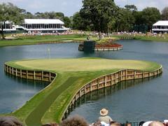 17th Hole - Island Green (joe.langley) Tags: sports golf florida 2008 pontevedra tpc pgatour theplayers tpcsawgrass