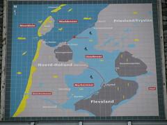 IJsselmeer (LeoKoolhoven) Tags: netherlands nederland dijk 2008 dike ijsselmeer afsluitdijk plattegrond