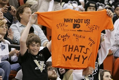 Flyers Penguins Hockey