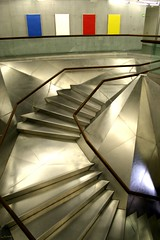 Caixa forum (darkside_1) Tags: pictures madrid city light urban espaa metal architecture stairs spiral lights luces spain arquitectura interiors colours shot photos forum ciudad colores escalera caixa urbana interiores espiral escaleras escaliers cubism lneas supershot caixaforummadrid flickrelite theunforgettablepictures theperfectphotographer trashbit photosthatrock rubyphotographer qualitypixels llovemypics thebestcityshots caixaforum escalerasmgicashaciaelcielo magicstairstowardsthesky sergiozurinaga bydarkside darkside1
