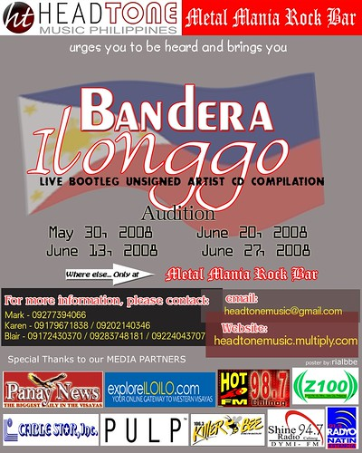 Bandera Ilonggo   Your chance to show how Ilonggos rock!