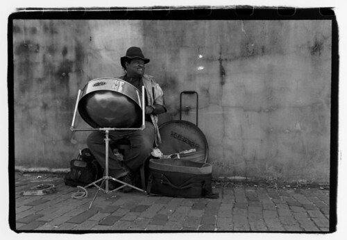 old white man black film dummer drum steel jamaican