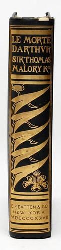 "Rare 1927 ""Le Morte D'Arthur"" with Aubrey Beardsley's Designs, Limited to 1600 Copies ($420.00)"