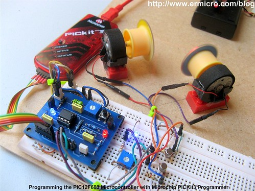 Building your own Simple Laser Projector using the Microchip PIC12F683 Microcontroller - 4