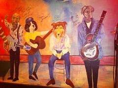 Moondogs wall..could be L-R Andy,Bob, Joe & Muddy! :-)