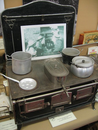 Toy Victorian cooker