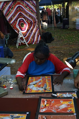Artist Mindil Beach Sunset Market