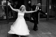Just Married!!! (Dave G Kelly) Tags: ireland wedding bw dublin irish woman man love happy groom bride interestingness couple married dress pareja robe joy paar marriage felicidade happiness happycouple alegria felicidad weddings feliz mariage hochzeit casal bonheur elation nicky matrimonio joie vestido noiva hitched novia freude novio alegra casado glcklich heirat hicon i8 sorcha heureux happyday glck brutigam kleid gettinghitched bigday vestir marie interestingness4 tyingtheknot mari i500 parejafeliz verheiratet tiedtheknot casalfeliz coupleheureux glcklichespaar davegkelly gluecksmomente