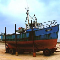 carmel patricia (limerickdoyle) Tags: ireland boat fishing beached drydock trawler efs1785mm westcoastofireland canon400d fishoutowater