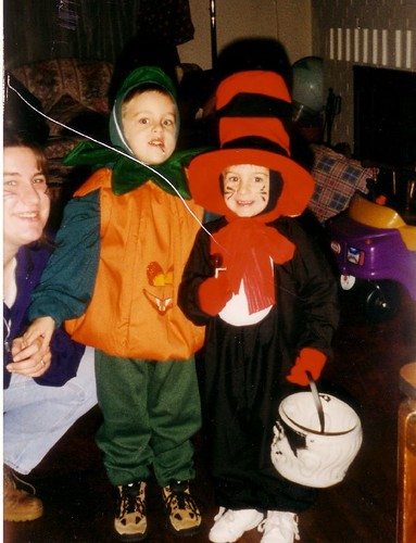 Daniel-Pumpkin Nathan-Cat In Hat