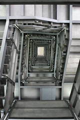 stairwell (Leo Reynolds) Tags: stairs canon eos gallery artgallery baltic stairwell f45 iso1600 30d 17mm 0ev 0025sec hpexif leol30random xratio23x xleol30x
