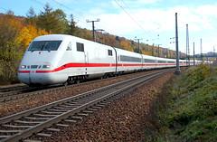 Inter City Express (gerhard.1962) Tags: autumn ice train d50 nikon herbst railway db nikond50 ag bahn trainspotting wienerwald westbahn untertullnerbach