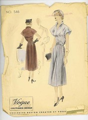 Vogue 546 (NaefMark) Tags: vintage sewing patterns style vogue hollywood simplicity advance mailorder haslam mccall butterick mccalls dubarry excella marianmartin anneadams