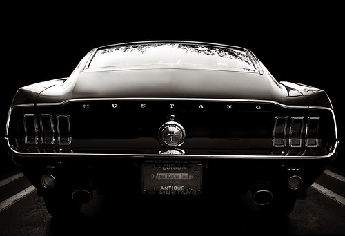 Muscle car: 1967 Mustang