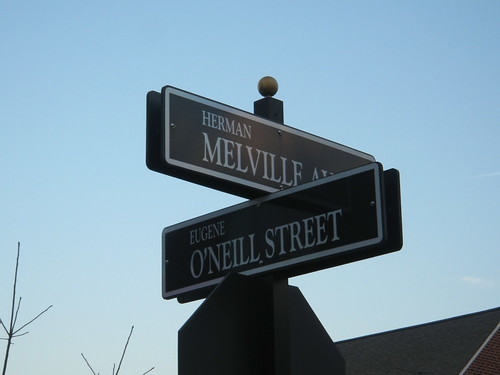 Meet me at Herman Melville and Eugene O'Neill