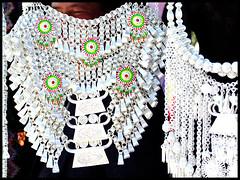 Hmong necklace (TeekoYang) Tags: beautiful hmong necklaces