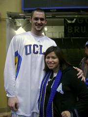 UCLA freshman center, Kevin Love