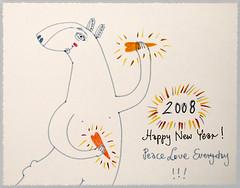 Happy 2008! (PannaJoanna) Tags: sketchbook wishes happynewyear