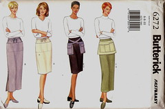 Hipster apron pattern, 1999