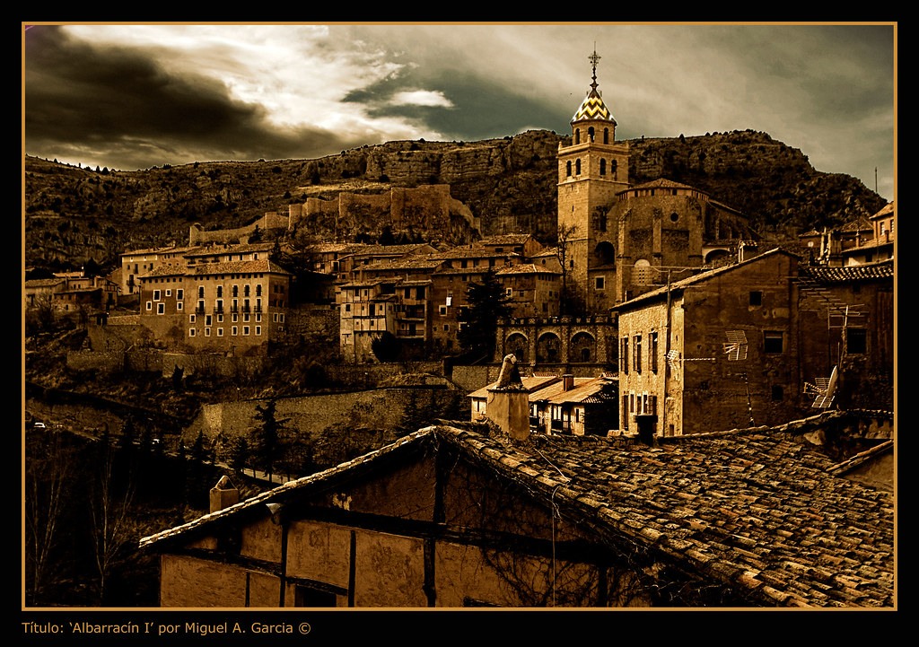 Photo d'Aragon n°2. Le village d'Albarracin