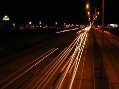 Autouroute 40 Transcanadienne la nuit (abdallahh) Tags: canada night highway montral qubec autoroute nuit