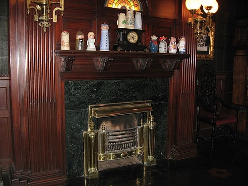 Fireplace in Sitting Rm